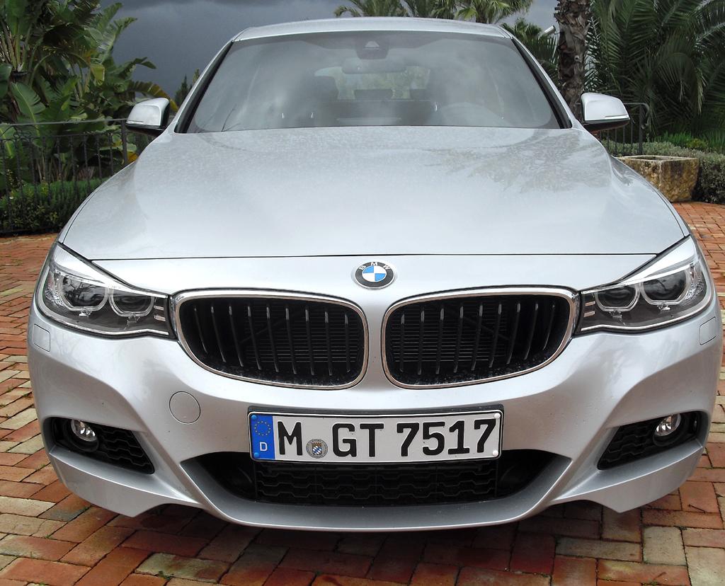 BMW 3er GT: Blick auf die Frontpartie.