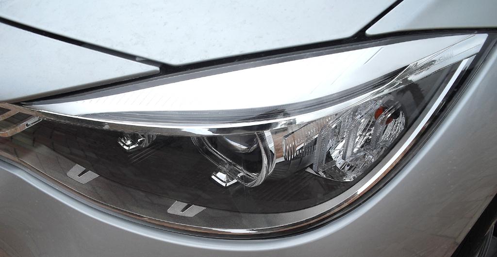 BMW 3er GT: Moderne Leuchteinheit vorn.