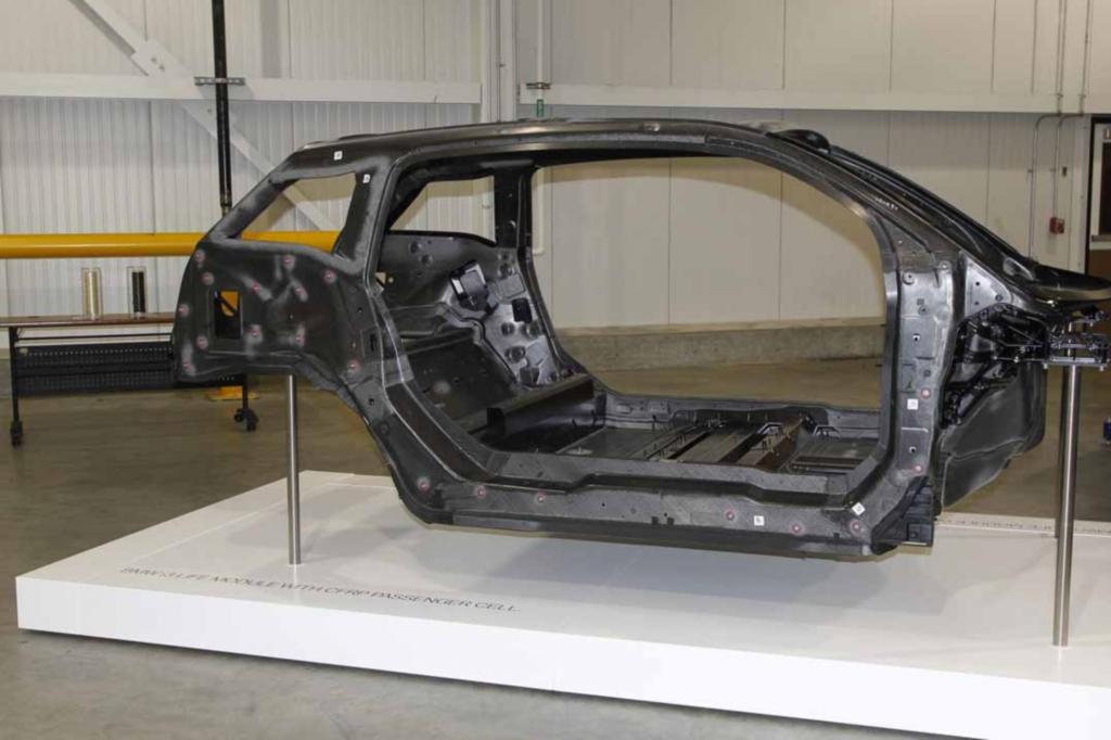 BMW-Karbonproduktion in Moses Lake