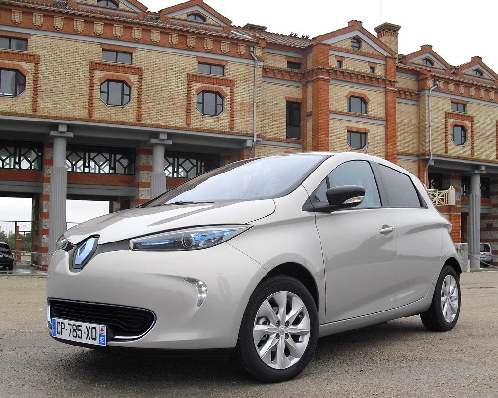 Bei Renaults neuem Zoe handelt es sich um einen Kleinwagen-Stromer.