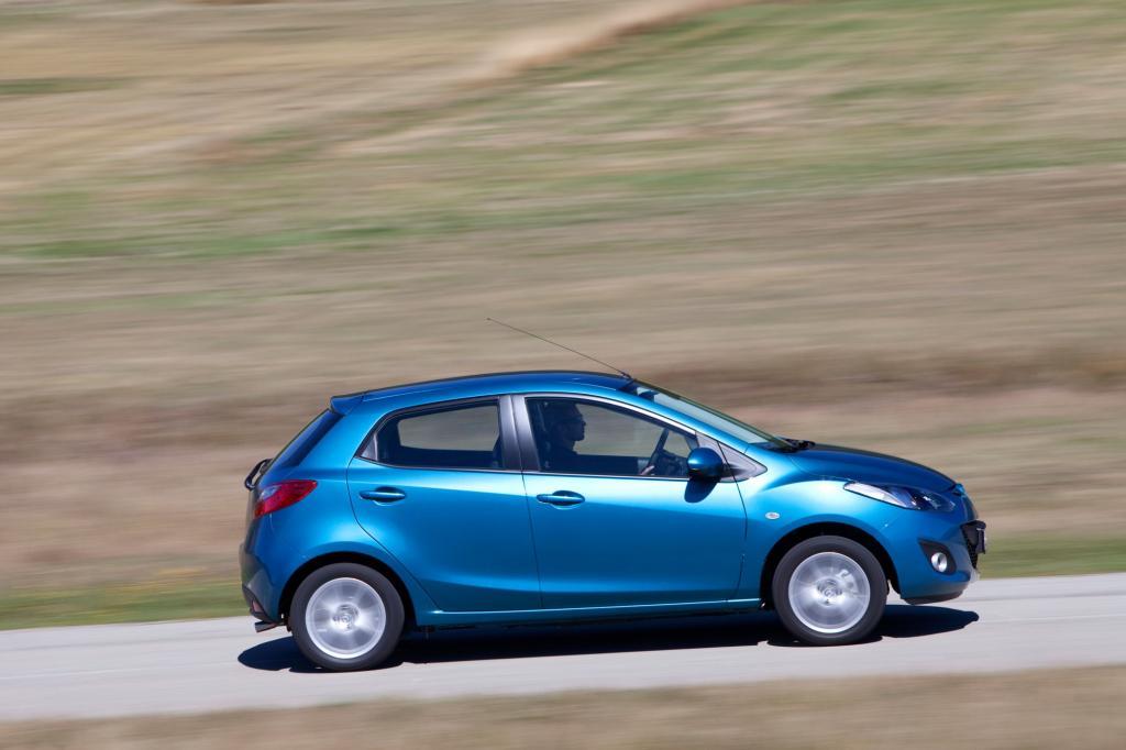 Beim TÜV ist der Mazda ein Musterknabe