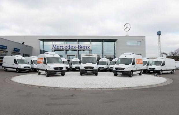Berliner Tafel übernimmt 13 Mercedes-Benz Sprinter