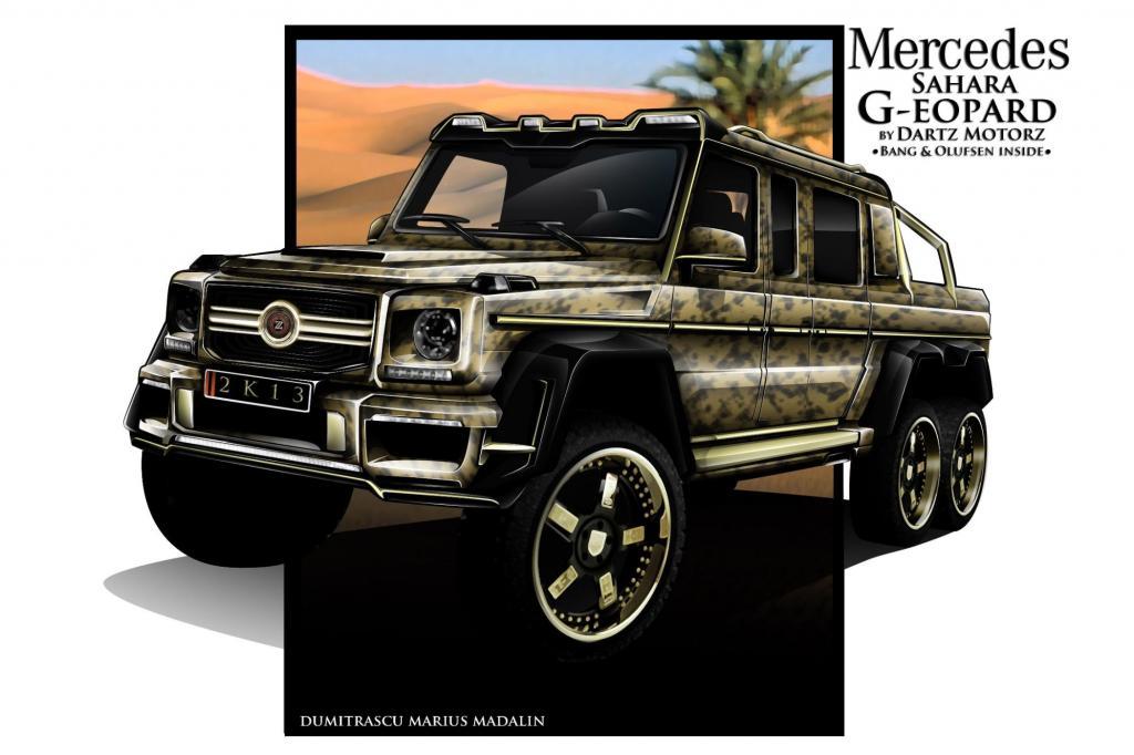 Dartz Mercedes Sahara G-eopard - Goldstück auf drei Achsen