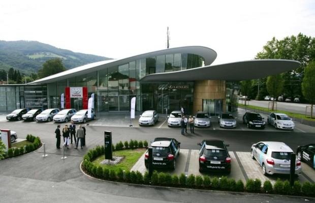 Das grüne Autohaus an der Hochschule Esslingen