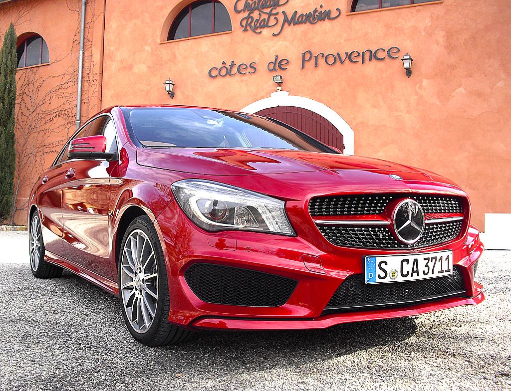 Das neue Mercedes-Coupé CLA soll helfen, die Marke weiter zu verjüngen. Foto: Koch