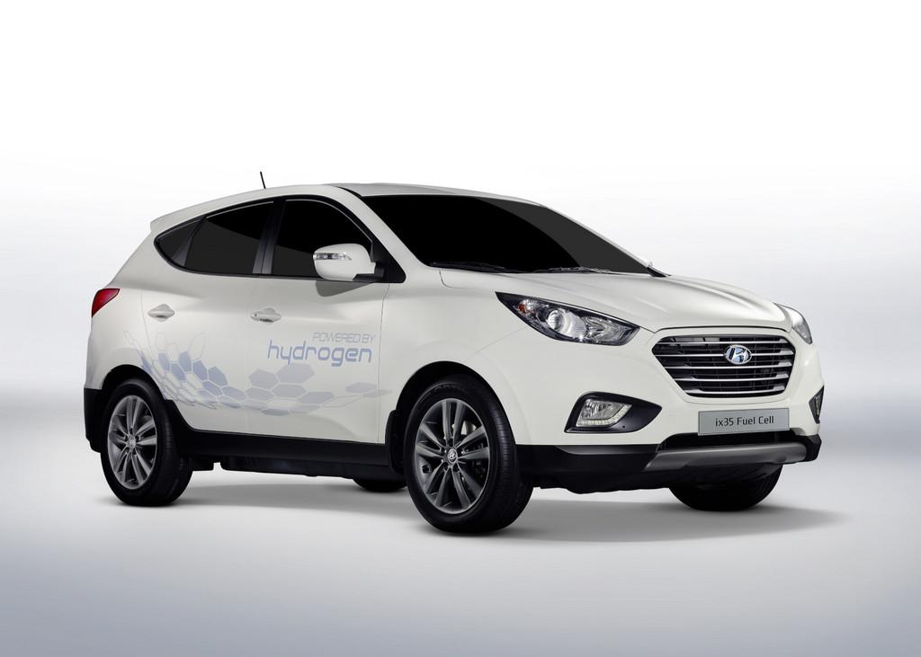 EU-Beamte fahren Hyundai ix35 Fuel Cell