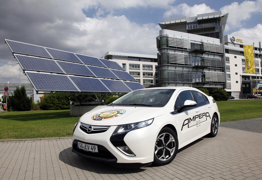 Elektroauto - aber keine Angst vor leerem Akku