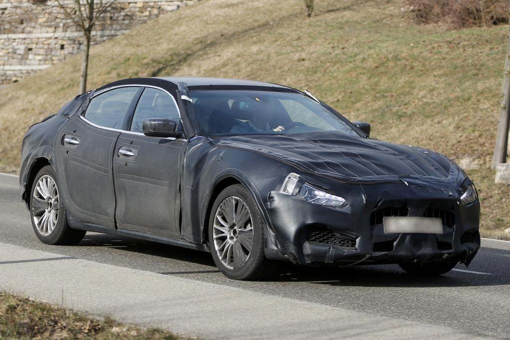 Erwischt: Erlkönig Maserati Ghibli – Baby-Quattroporte