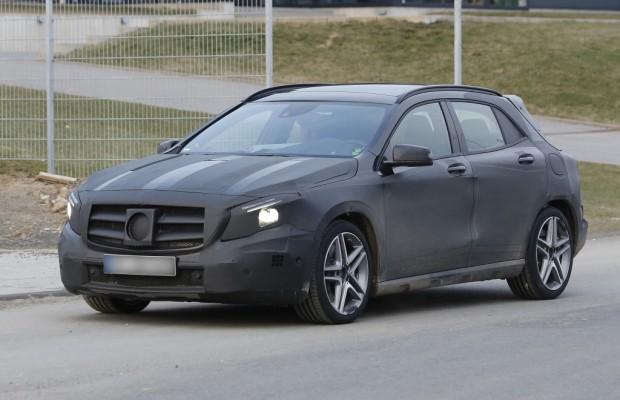 Erwischt: Erlkönig Mercedes GLA 45 AMG – Mehr Off-Road Power