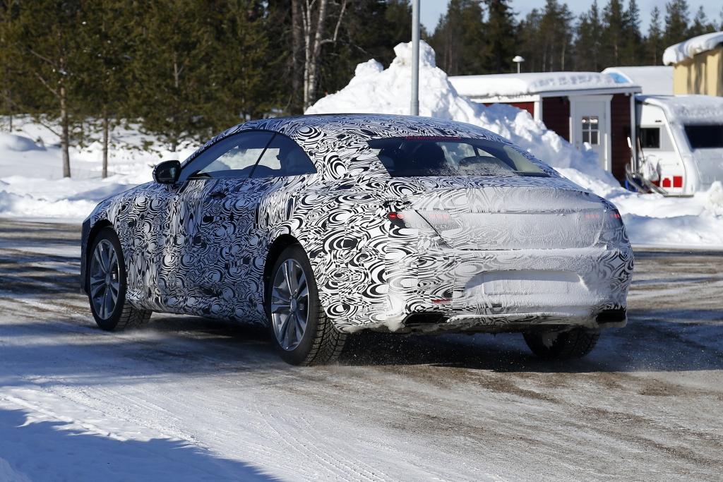 Erwischt: Erlkönig Mercedes S-Klasse Coupé