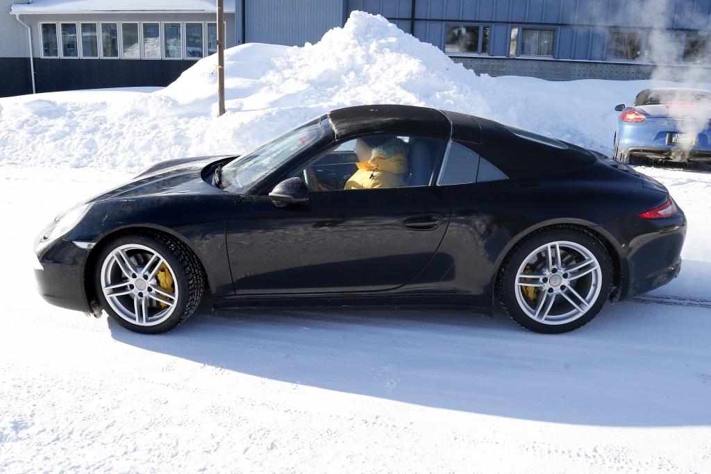 Erwischt: Erlkönig Porsche 911 Targa – Offen und doch nicht offen