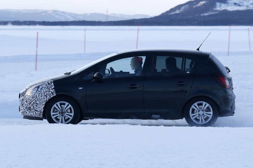 Erwischt: Erlknig Opel Corsa Facelift
