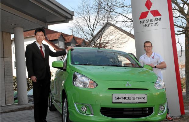 Fabian Hambüchen ist Markenbotschafter für Mitsubishi