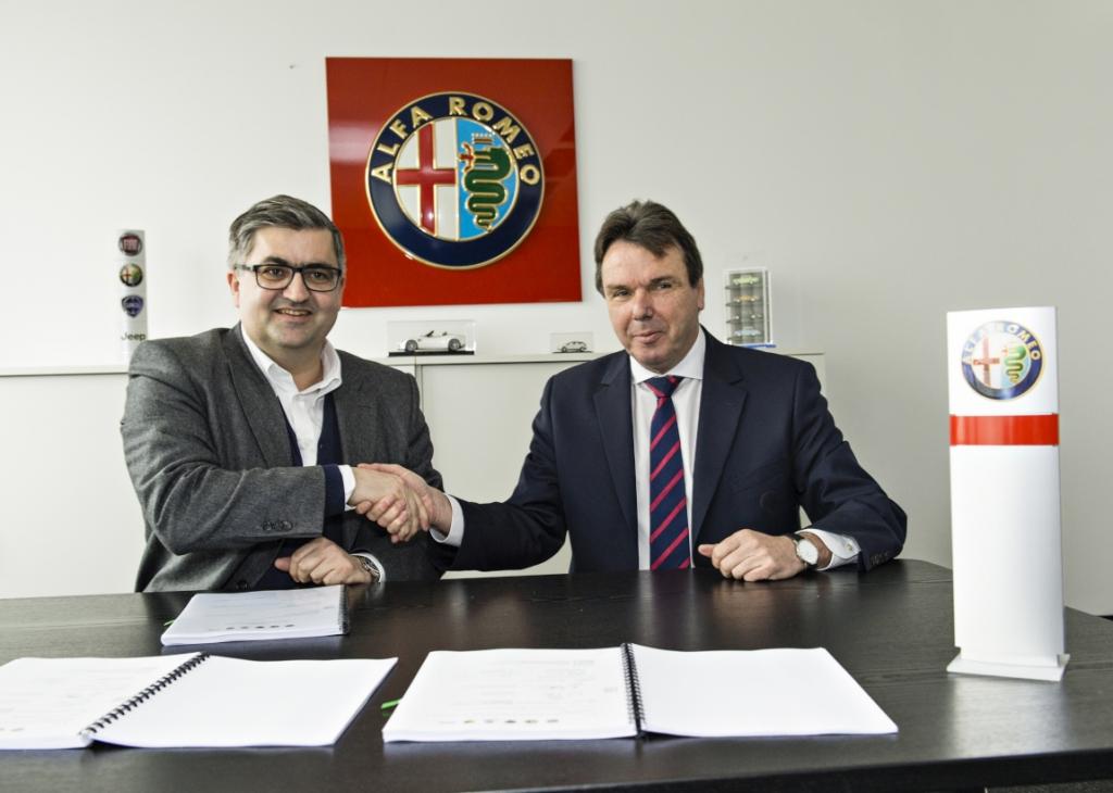 Fiat Group neuer Hauptsponsor von Eintracht Frankfurt
