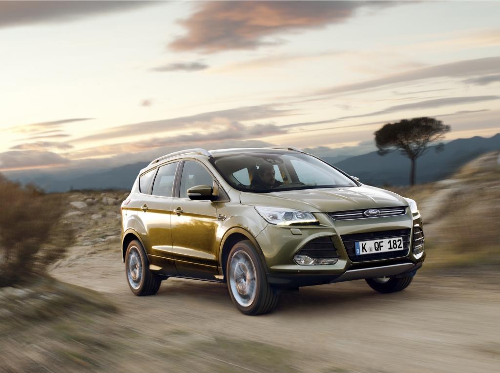 Ford Kuga: Neuer Crossover mit Sportsitzen, Klima und Lederlenkrad zum Einführungspreis