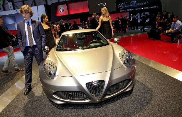 Genf 2013: Alfa Romeo 4C ab sofort bestellbar