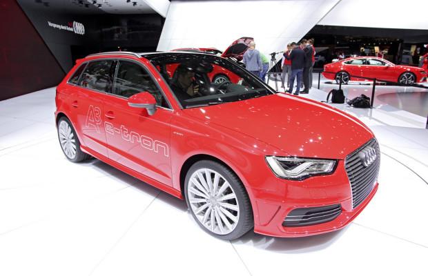 Genf 2013: Audi A3 Sportback E-Tron verbraucht nur 1,5 Liter
