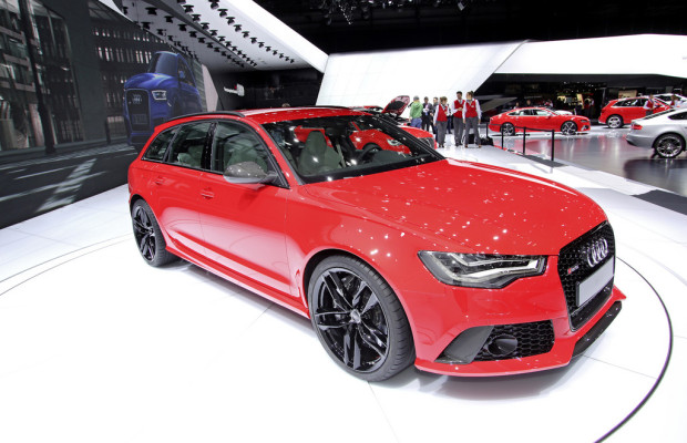 Genf 2013: Audi RS 6 Avant hat weniger Durst