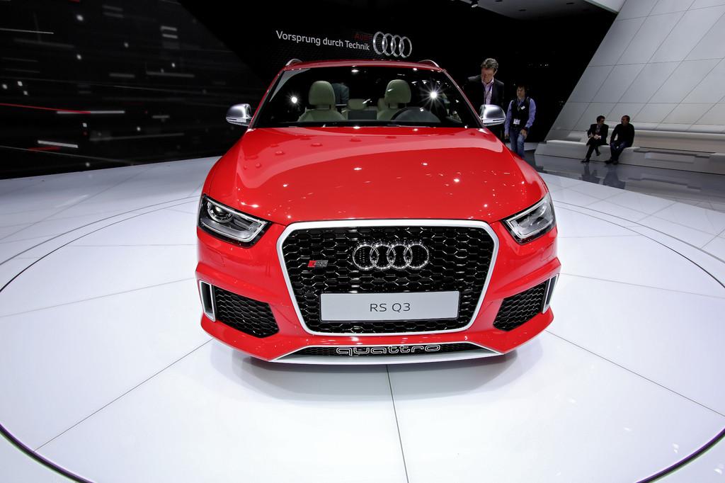 Genf 2013: Audi baut ersten RS in der Q-Familie