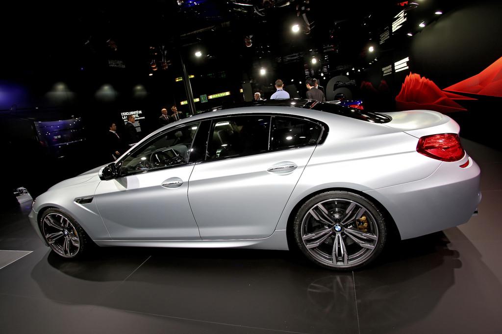 Genf 2013: BMW M6 Gran Coupé gibt sein Europadebüt