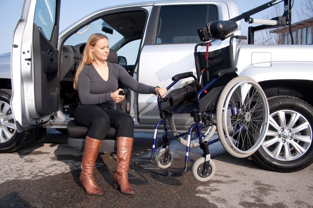 Genf 2013: Behindertengerechter VW Amarok in Genf