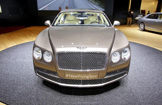 Genf 2013: Bentley Flying Spur schafft 322 km/h