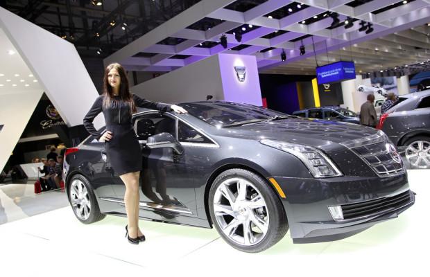 Genf 2013: Cadillac zeigt Elektro-Coupé ELR