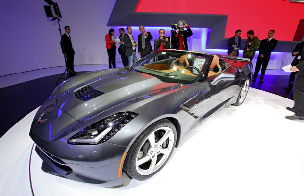 Genf 2013: Chevrolet Corvette Stingray Cabriolet feiert Weltpremiere