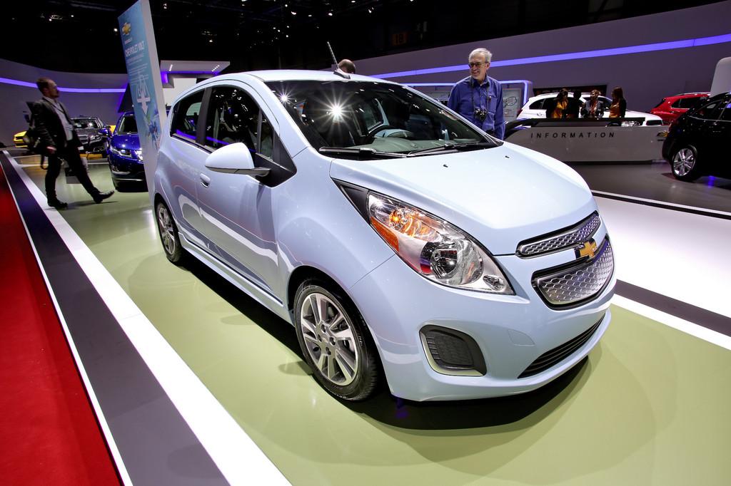 Genf 2013: Chevrolet Spark EV ab 2014 in Europa