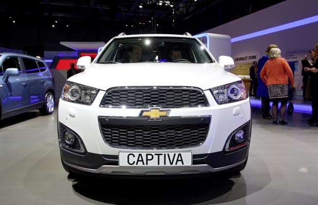 Genf 2013: Chevrolet frischt den Captiva auf