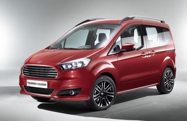Genf 2013: Ford Tourneo Courier: Kompakter Personentransporter