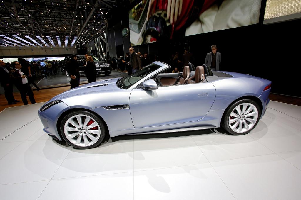 Genf 2013: Jaguar F-Type kurz vor dem Marktstart