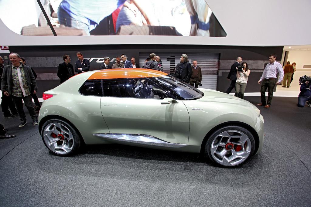 Genf 2013: Kia stellt Hybrid-Studie Provo vor