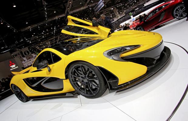 Genf 2013: McLaren P1 leistet 916 PS