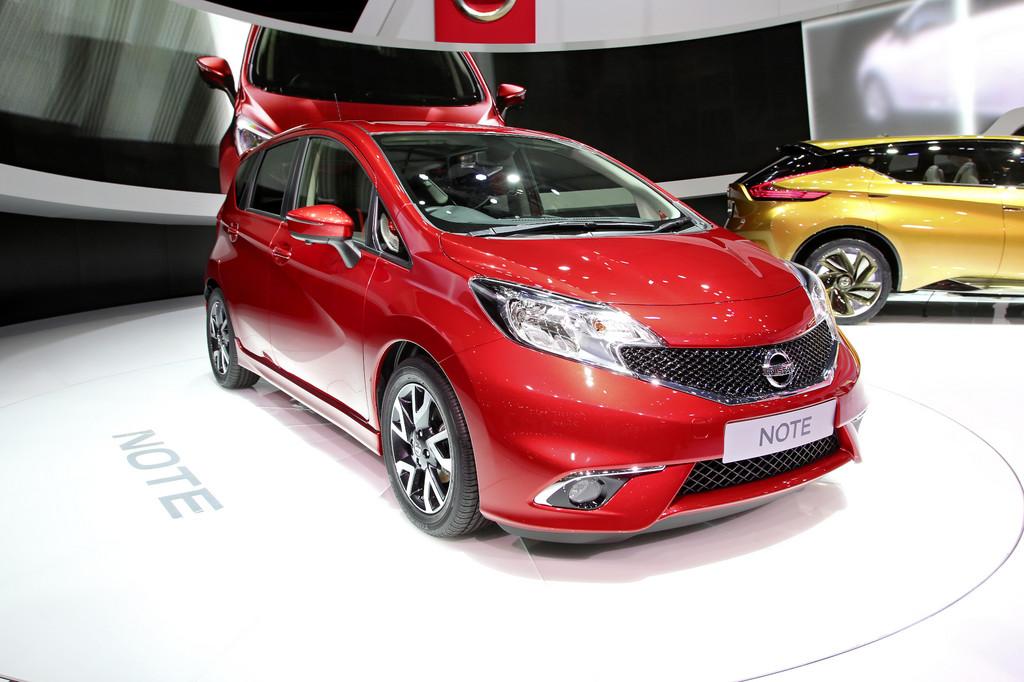 Genf 2013: Neuer Nissan Note kommt im Herbst
