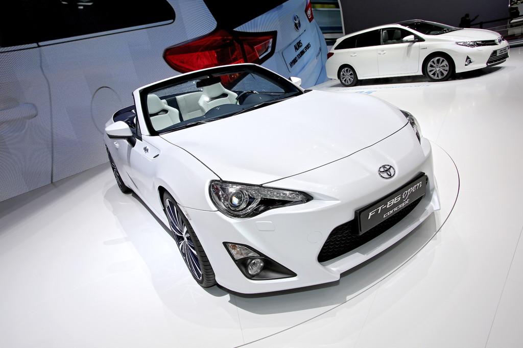 Genf 2013: Offener Toyota GT86 könnte Ende des Jahres in Serie gehen