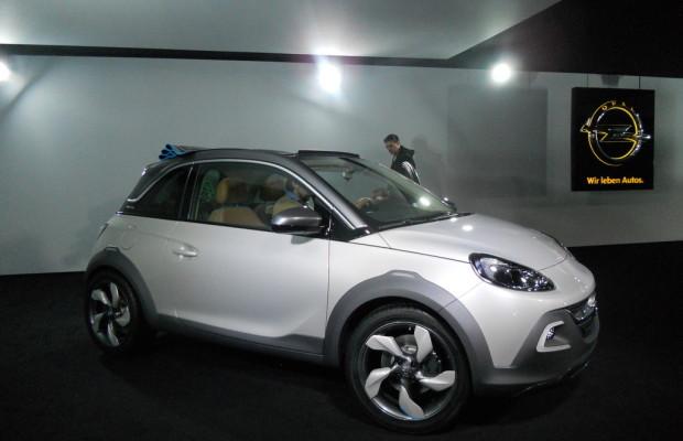 Genf 2013: Opel Adam für Frischluft- und Offroad-Fans