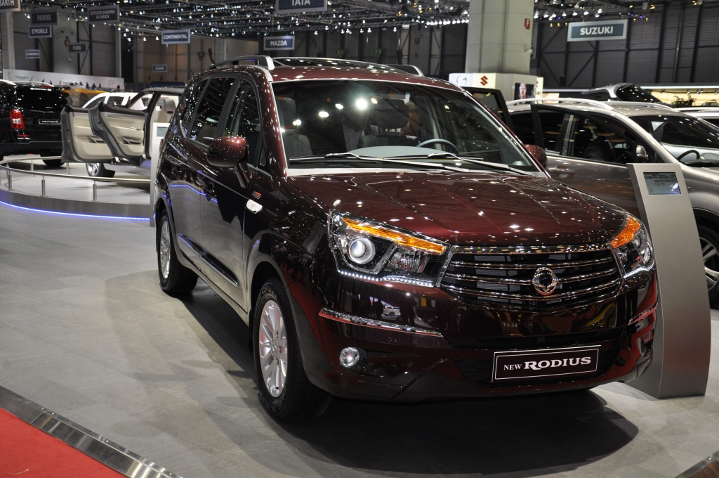 Genf 2013: SUVs und Vans - Viel Bekanntes, wenig Neues