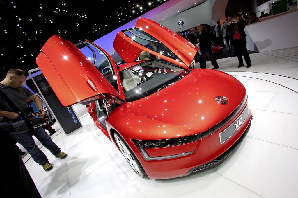 Genf 2013: VW XL1 kommt unter einen Liter
