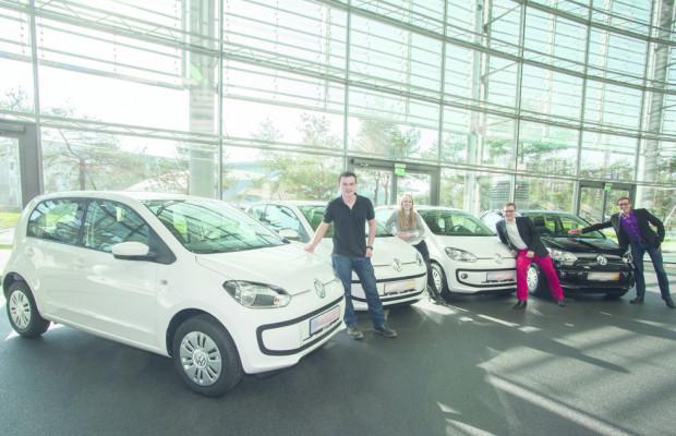 Gewinner von VW-Facebook-Aktion ehalten ihren Up