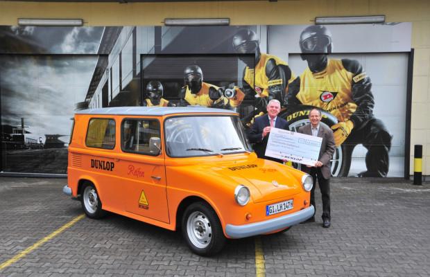 Goodyear-Dunlop spendet 12 000 Euro an Lebenshilfe Gießen