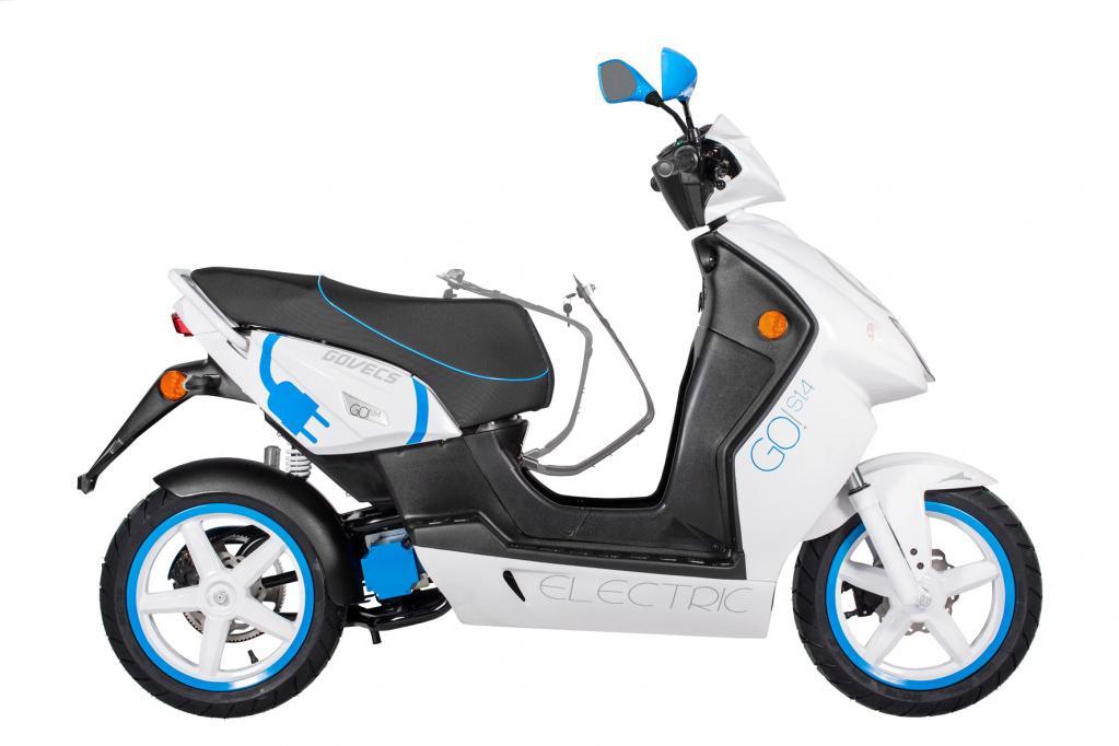 Govecs mit Facelift für Elektro-Roller
