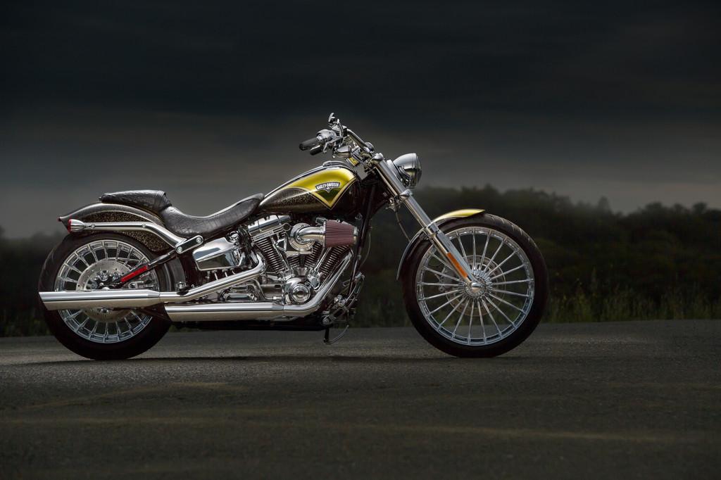 Harley-Davidson bringt Softail Breakout