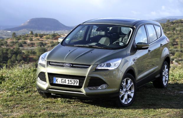 In der SUV-Offensive: Neuer Ford Kuga startet im März / Front- und Allradantrieb