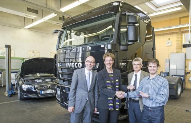 Iveco unterstützt die Robert-Bosch-Berufsschule in Ulm