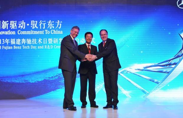 Joint Venture von Daimler Van eröffnet Anlage in China