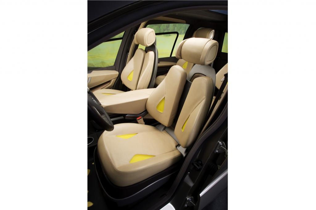 Künftig werden sich Sitze den Körpern der Insassen anpassen, so sieht es zumindest Mercedes