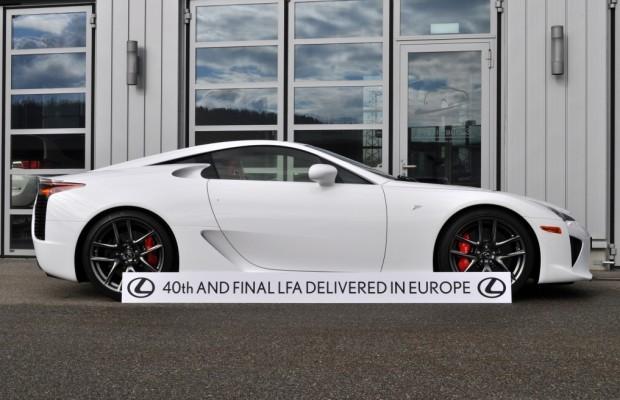Letzter Lexus LFA in Europa ausgeliefert
