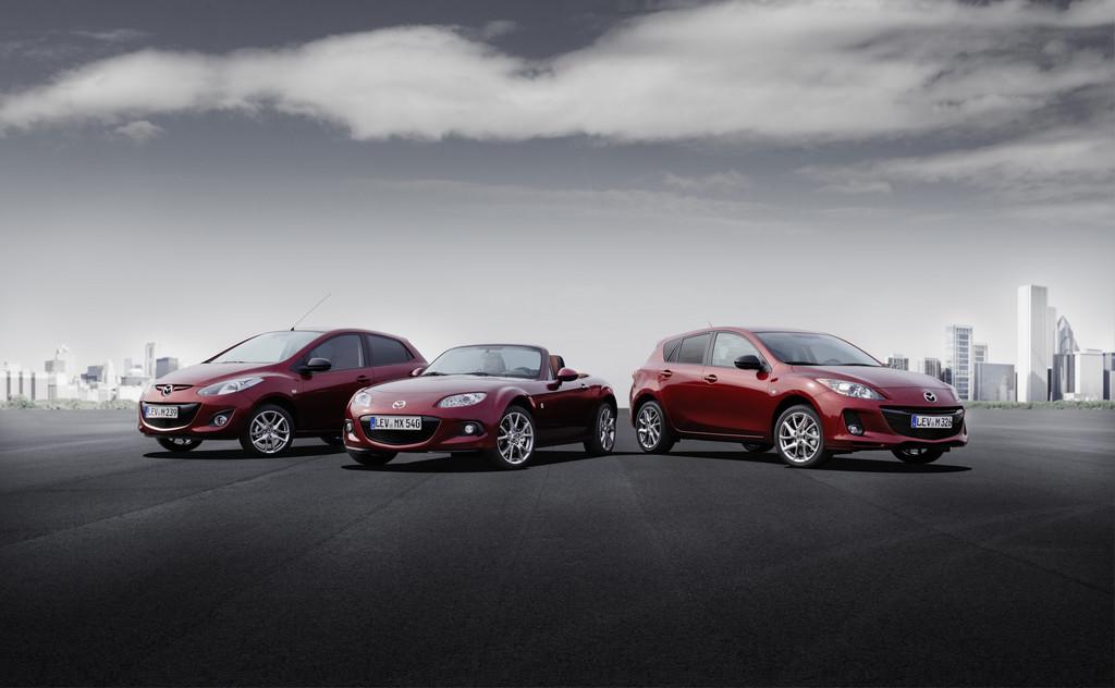 Mazda wirbt mit Sondermodellen
