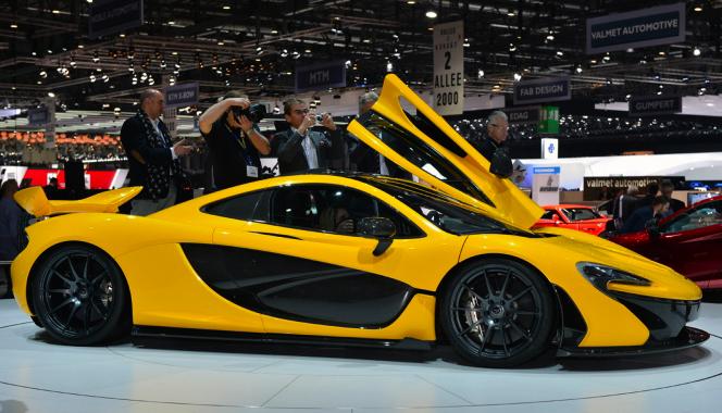 McLarens neuer P1.